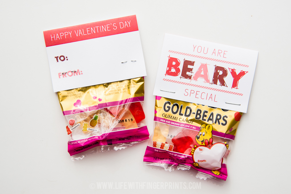 Kids Valentine's; Free Printables